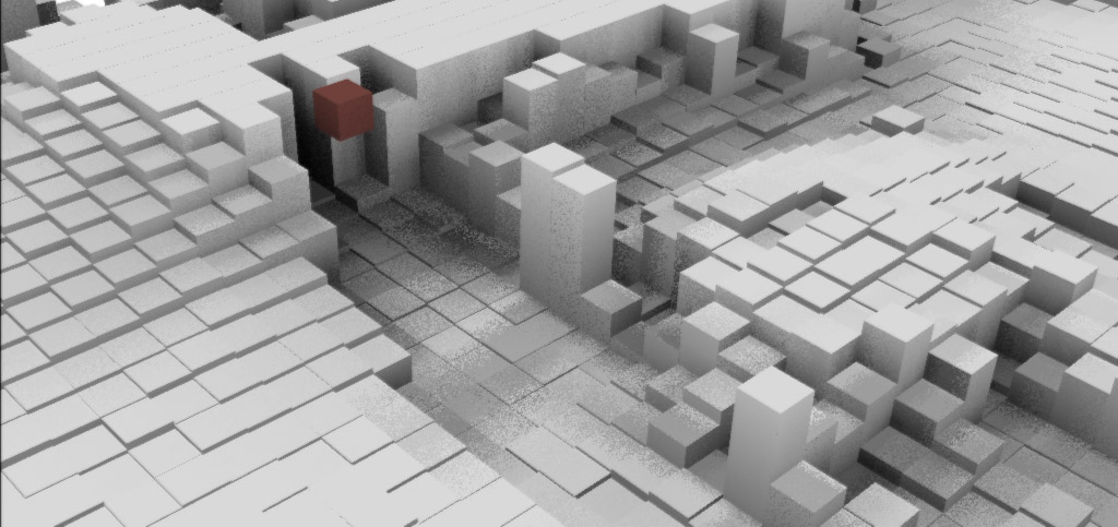 block heightfield ambient occlusion